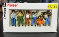 Preiser 1:50 Truckers figure set